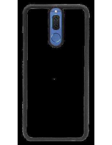 Funda personalizada para Huawei Mate 10 Lite de borde negro de TPU