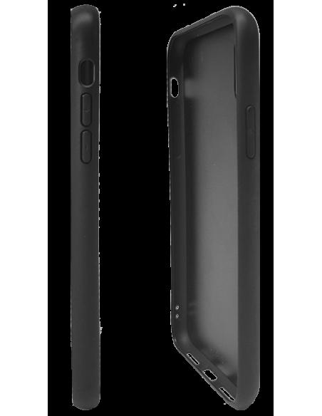 Funda personalizada para iPhone X de TPU y cristal efecto espejo