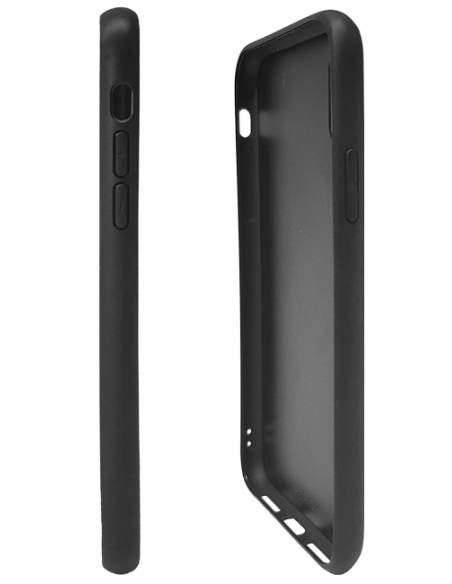 Funda personalizada para iPhone XR de TPU y cristal efecto espejo
