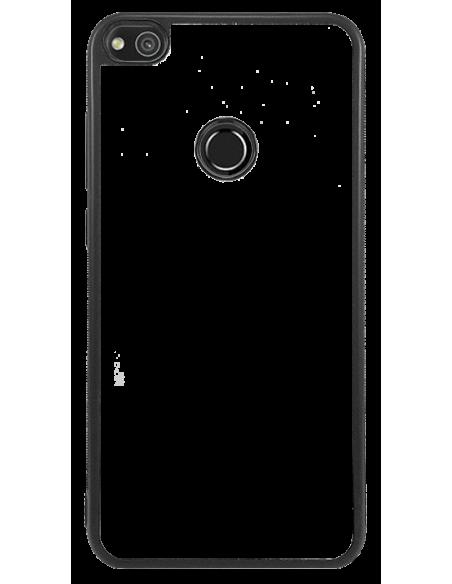 Funda personalizada para Huawei P8 lite 2017 de borde negro de TPU