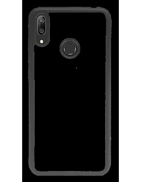 Funda personalizada para Huawei Y7 2019 de borde negro TPU