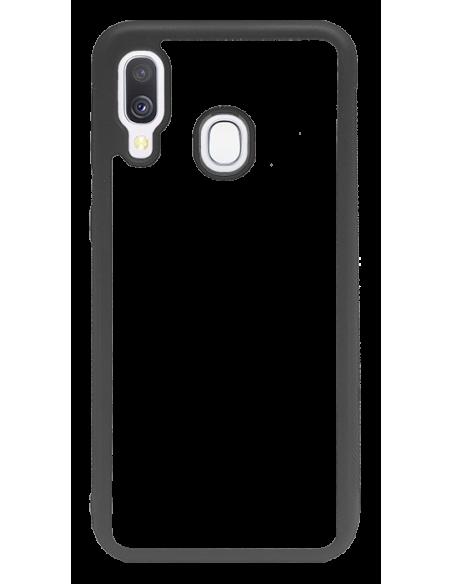 Funda personalizada para Samsung Galaxy A40 de borde goma flexible