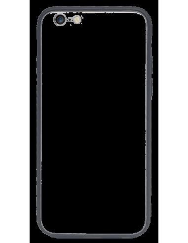 Funda personalizada para iPhone 6 de TPU o goma flexible y cristal espejo