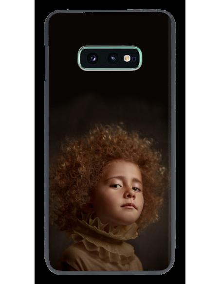 Funda personalizada para Samsung Galaxy S10e TPU y cristal efecto espejo