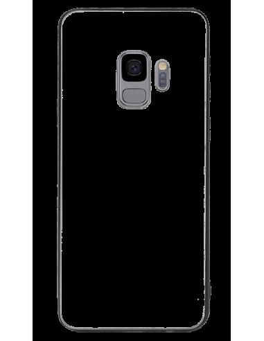 Funda personalizada para Samsung Galaxy S9 Plus TPU y cristal efecto espejo