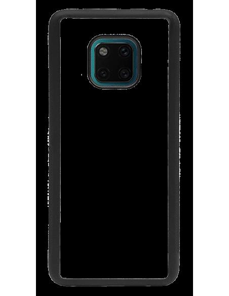 Funda personalizada para Huawei Mate 20 Pro de borde negro de TPU