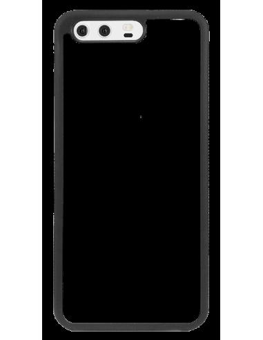 Funda personalizada para Huawei P10 de borde negro de TPU