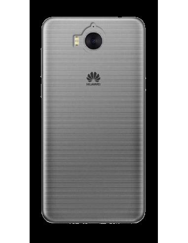 Funda personalizada para Huawei Y6 2017 de silicona transparente flexible