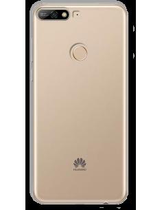 Funda personalizada para Huawei Y7 2018 de silicona transparente flexible