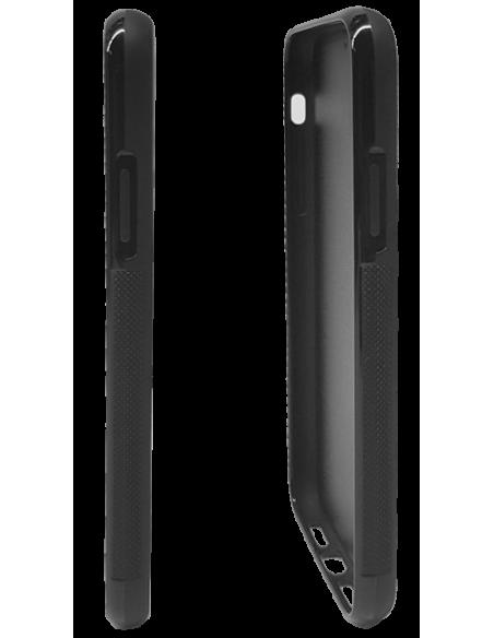 Funda personalizada para Samsung Galaxy J7 (2017) de goma negra flexible TPU