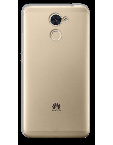 Funda personalizada para Huawei Y7 Prime de silicona transparente flexible