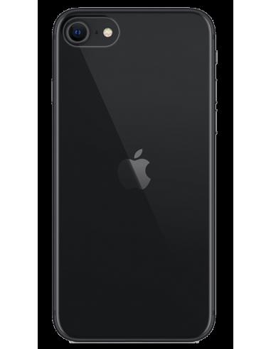 Funda personalizada para iPhone SE (2020) de silicona o gel transparente