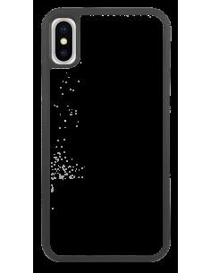 Funda personalizada para iPhone XS de TPU o goma de borde negro