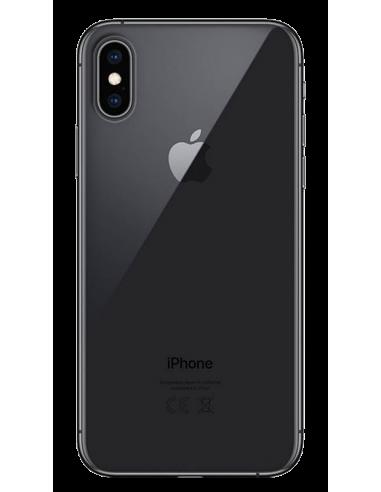 Funda personalizada para iPhone X XS de gel transparente flexible
